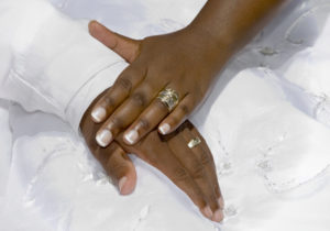 Wedding Day Hands